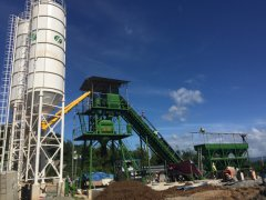 HZS60 Portable Concrete Batch Plant